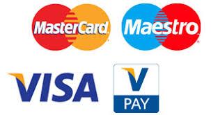 logo visa master maestro en v pay
